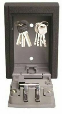 Lock Key Safe Box Storage Wall Mounted Weather Resistant 4 Digit Combination