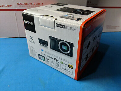 New Sony Alpha a6000 24.3 MP Mirrorless Camera with 16-50mm Power Zoom Lens