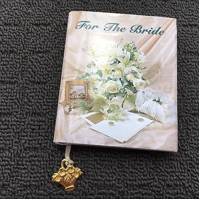FOR THE BRIDE Beautiful Miniature Wedding Gift Book (1997) Hardcover