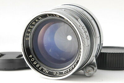 【EXC+++++】Canon Serenar 50mm f1.9 L39 LTM Leica COLLAPSIBLE Lens from JAPAN A050