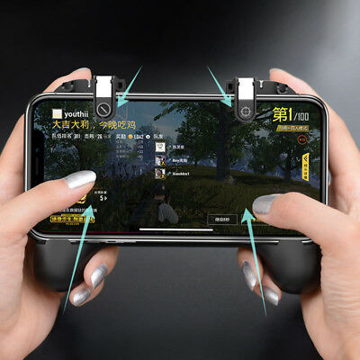 Smart Phone Gamepad Fit PUBG Mobile Games Controller Gamepad Trigger Cooling New