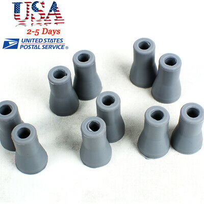 FDA10X Replacement Rubber Snap Tips Adapter for Dental Dentist SE Saliva Ejector