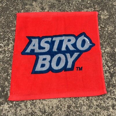 "ASTRO BOY ""Red"" Awesome Anime Character Face Washer Small Washcloth Towel"