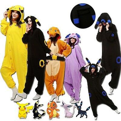 Pokemon Onesi2 Kigurumi Women Men Animal Pajamas Cosplay Costume Sleepwears FR.