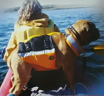 MTI Underdog Pet Life Jacket (Medium) Mango/Red - MTI-502A MD MANGO/RE