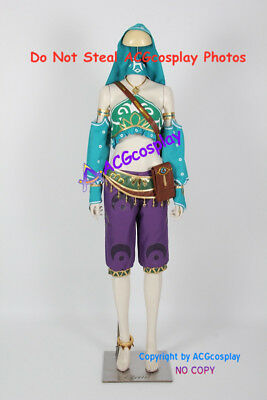 Female Zelda Link Gerudo Cosplay Costume The Legend Of Zelda