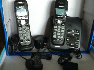 Uniden DECT 1635 Cordless Phone - Base Unit With Answering Machine + 1 Phone