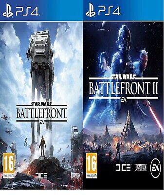 Star Wars Battlefront 1 & 2 - PS4 PRESTINE 1st Class Fast & Free Delivery