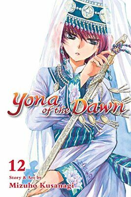 Yona of the Dawn, Vol. 12 by Kusanagi  New 9781421587936 Fast Free Shipping..