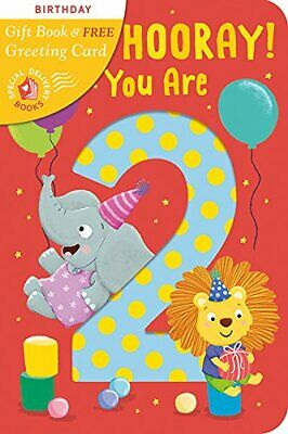 Hip, Hip, Hooray You Are 2! (Special Delivery Books), Scudamore 9781848699731..