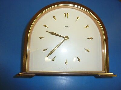 Smiths 8 Day Time Piece Mantel Clock