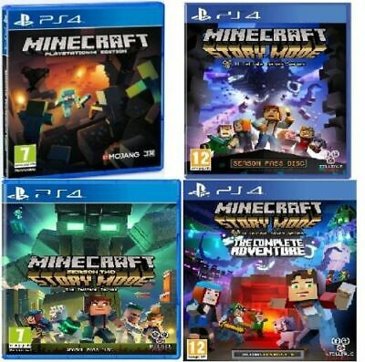 Minecraft/Storymode/Season 2/ PS4 Assorted PRESTINE -1st Super Fast Delivery