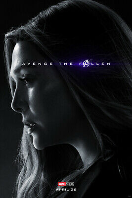 L0973 Art Decor The Avengers Endgame Movie Characters Poster Scarlet Witch