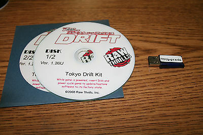 Fast & Furious Drift Conversion Update Kit Rawthrills Dongle And Recovery Disks