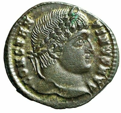 """Constantine I The Great AE20 """"PROVIDENTIAE AVGG Campgate"""" Cyzicus RIC 34"""