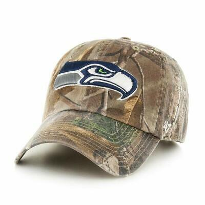 huge selection of 800d0 d9caf Seattle Seahawks  47 Brand Realtree Clean Up Adjustable Hat