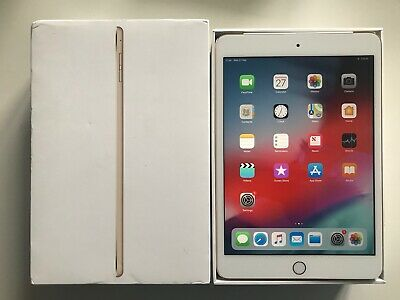 GRADE A Apple iPad mini 3 64GB, Wi-Fi + Cellular (Unlocked), 7.9in - Gold