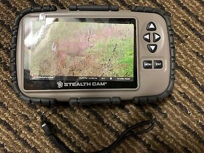 STEALTH CAM SD Card Reader/Viewer with 4 3