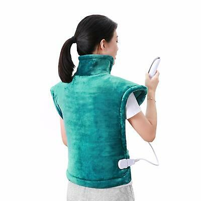 MaxKare Electric Heating Pad Neck Shoulder and Back Heating Wrap Back Pain