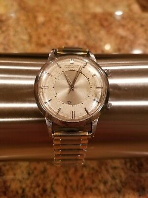 Jaeger LeCoultre Le Coultre Automatic Memovox Bumper Alarm Wristwatch Men watch