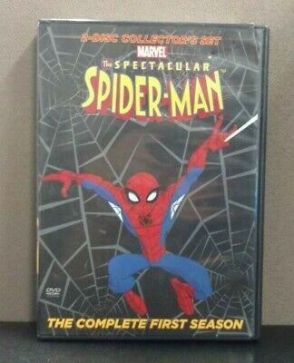 The Spectacular Spider-Man, Complete First Season     (DVD)     LIKE NEW