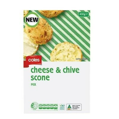 Coles Cheese & Chive Scone Mix 400g