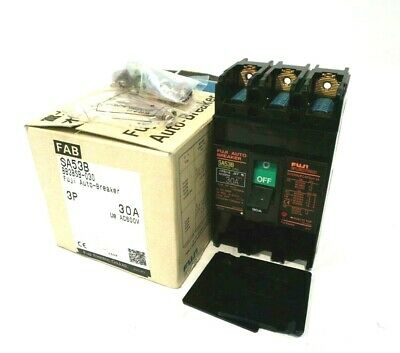 New Fuji Electric Sa53B Circuit Breaker Bb3Bsb-030
