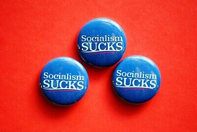 """Stalin Goal Of Socialism Is Communism Pinback Button 1.5/"""" Free Shipping"""