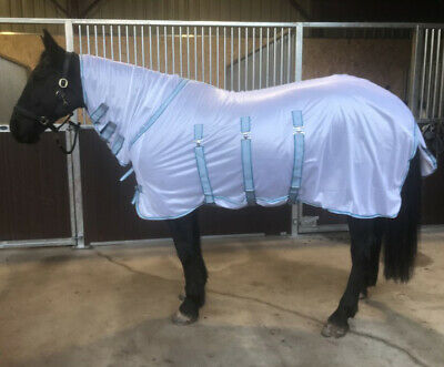 Buxton Horse Fly Rug / Sheet Full Neck, Belly Flap, Tail Flap  All Sizes
