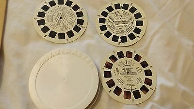 Viewmaster  2D Reels 3 Reels w Hard Case Benji, Fat Albert CL20-48