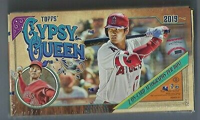 2019 Topps Gypsy Queen Baseball Factory Sealed Hobby Box