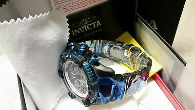 Invicta Arsenal Reserve 63 mm Swiss 13021 Chronograph Watch New