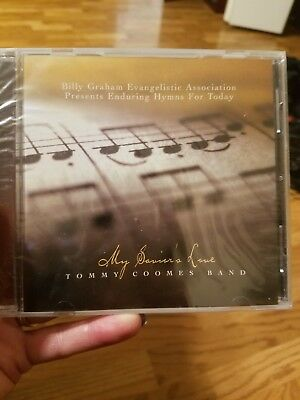 Tommy Coomes Band - My Savior's Love CD 2004 Billy Graham * NEW * STILL SEALED *
