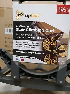 UpCart - The Lightweight All-Terrain Stair Climbing Trolley