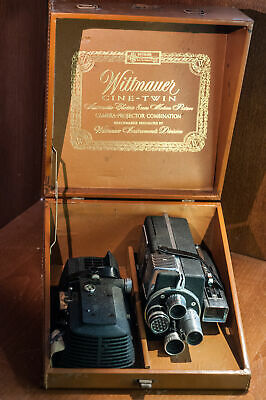 Wittnauer CineTwin - 8mm Filmcamera / projector