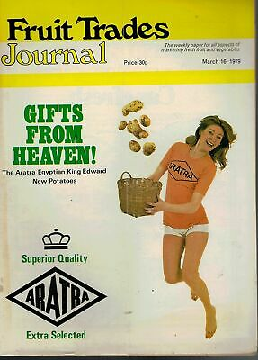 1979 16 MARCH 57334 Fruit Trades Journal Magazine  BGLA BOOKINGS WELL UP