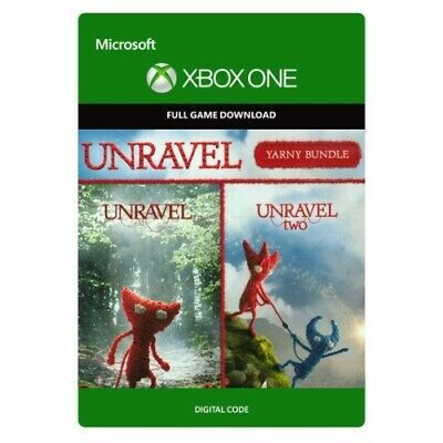 Unravel Yarny Bundle * Xbox One Game Download * Unravel 1, 2 * Same Day Delivery