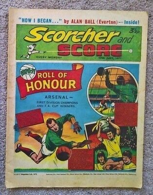Scorcher and Score comic - Dated 17/07/1971 [Tibvopolis]