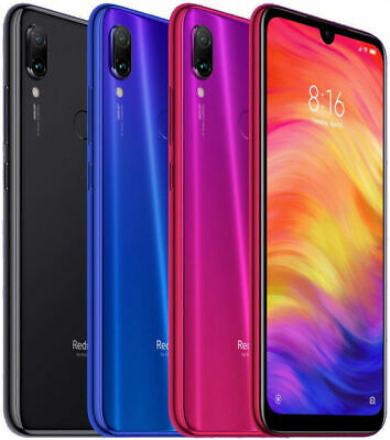 Xiaomi Redmi Note 7 Unlocked 32GB 3GB RAM Dual Sim 4G Phone - EU Global Version