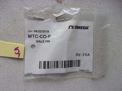 Lot Of 3 New Omega Thermocouple Contacts Mtc-Co-P (332)