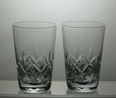 "Stuart Crystal""Glengarry"" Cut Tumblers / Glasses Set Of 2 - 3 1/2"" Tall"
