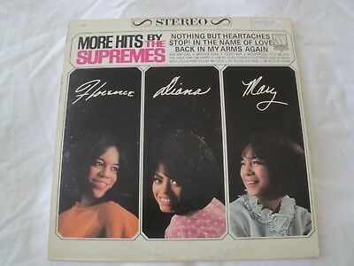 More Hits By The Supremes Vinyl Lp Album 1965 Motown Records Ask Any Girl