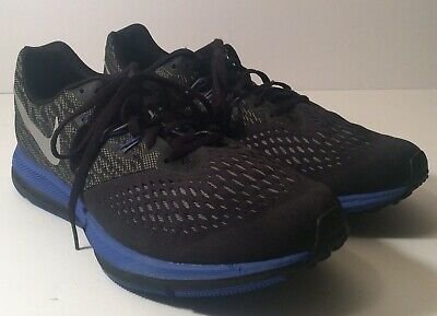 782c5426c51d Nike Zoom Winflo 4 Mens Sz 10.5 Running Shoes 898466-009 Training Athletic