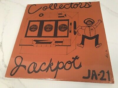 "Sealed V.A. ""Collector's Jackpot - Blues"" 1974 LP JA-21 Jazz Archives 1920s-1930"