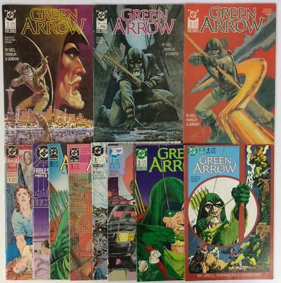 Green Arrow #1 to #10 (#6 missing) + 2 annuals (DC 1988) 11 x issues