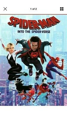 Spider-Man: Into the Spider-Verse (DVD,2018)NEW. Free Shipping. USA Seller.