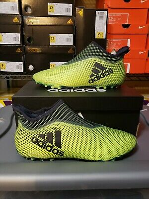 cf5f82529 ADIDAS PURESPEED 17+ TF Turf Soccer Cleats Green Black CG3237 SZ 11 ...