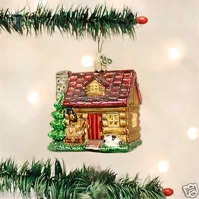 *Lake Cabin* House Vacation [20026] Old World Christmas Ornament - NEW