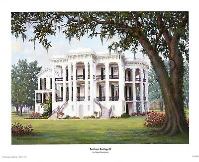 Southern Heritage II  by Steve Bourgeois Nottoway Plantation  21 x 26