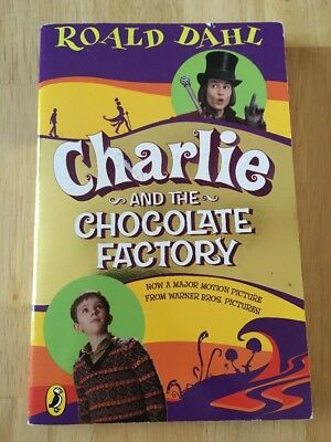 Charlie and the Chocolate Factory by Roald Dahl (2005, Paperback) Good